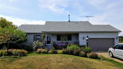 Single Family Home For Sale: 2866 Graham Road