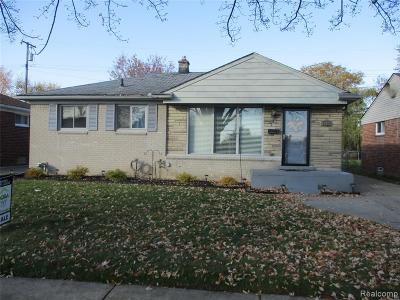 Macomb County Single Family Home For Sale: 18301 Marquette Street