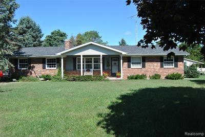 Single Family Home For Sale: 1379 White Oak Drive