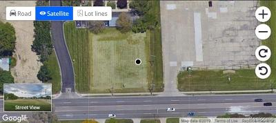 Macomb County Residential Lots & Land For Sale: 16759 12 Mile