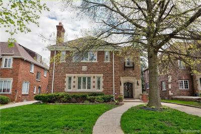 Detroit Single Family Home For Sale: 17198 Wildemere Street