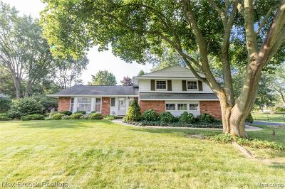 Troy Single Family Home For Sale: 2631 Avonhurst Drive