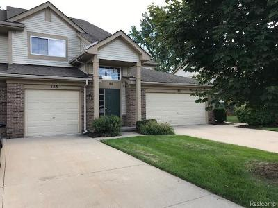 Auburn Hills Condo/Townhouse For Sale: 188 S Vista