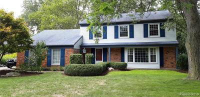 Bloomfield Twp Single Family Home For Sale: 3282 E Breckenridge Lane