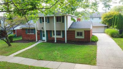 Farmington Hills Single Family Home For Sale: 24163 S Duncan Circle