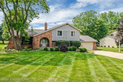 Commerce Twp Single Family Home For Sale: 5305 Inverrary Lane