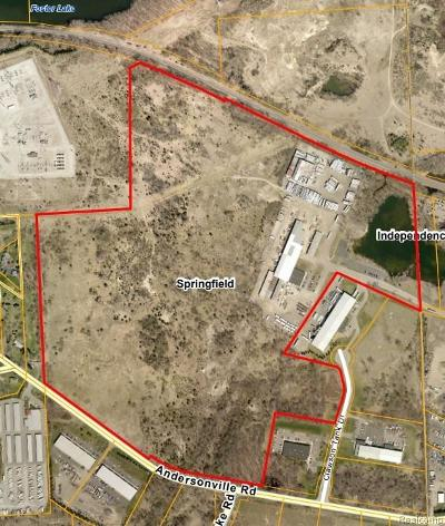 Oakland County Commercial Lots & Land For Sale: Andersonville Road