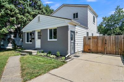 Berkley Single Family Home For Sale: 1798 Gardner Avenue