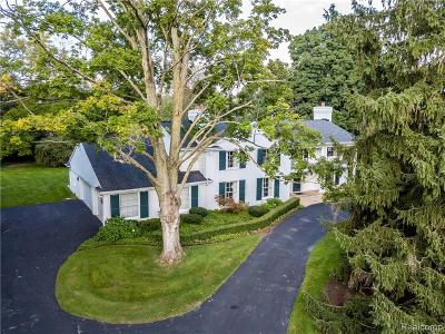 Bloomfield Hills Single Family Home For Sale: 326 Keswick Road