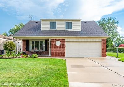 Sterling Heights Single Family Home For Sale: 14242 Wedgewood Road