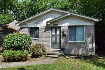 Macomb County Single Family Home For Sale: 3315 Bart Avenue
