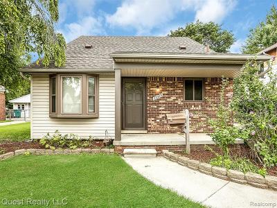 Dearborn Single Family Home For Sale: 23300 Cleveland Street