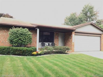 Troy Single Family Home For Sale: 2611 Avalon Drive