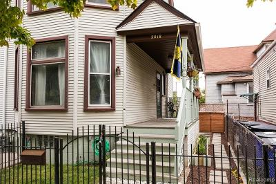 Detroit Single Family Home For Sale: 2018 11 Th Street