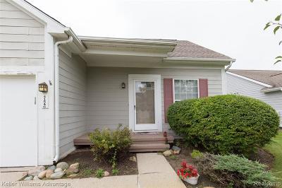 Novi Condo/Townhouse For Sale: 41546 Cornell Drive