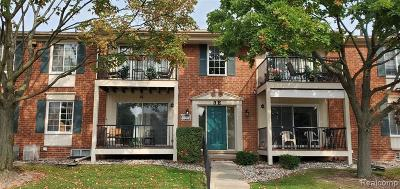 Sterling Heights Condo/Townhouse For Sale: 12007 Ina Drive
