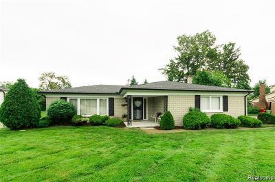 Southfield Single Family Home For Sale: 19460 Eldridge Lane