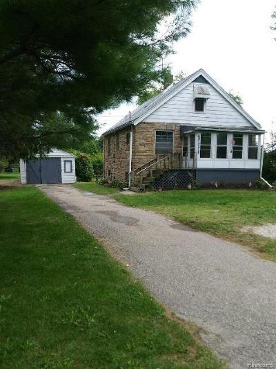 Macomb County Single Family Home For Sale: 47778 Sugarbush Road