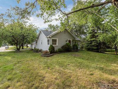 Rochester Hills Single Family Home For Sale: 3340 Harrison Avenue