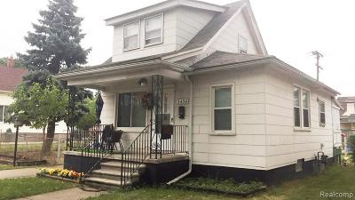 Dearborn Single Family Home For Sale: 5434 Reuter Street