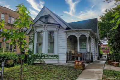 Detroit Single Family Home For Sale: 923 W Alexandrine Street