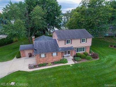 Commerce Twp Single Family Home For Sale: 3571 Trentwood Drive