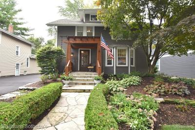 Canton, Plymouth Single Family Home For Sale: 1419 Sheridan Street