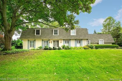 Bloomfield Twp Single Family Home For Sale: 2780 S Indian Mound S