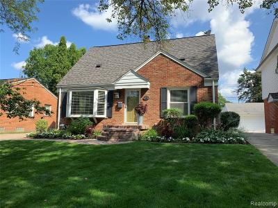 Royal Oak Single Family Home For Sale: 3103 Vinsetta Boulevard