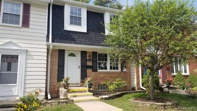 Northville Condo/Townhouse For Sale: 41288 Lehigh Court