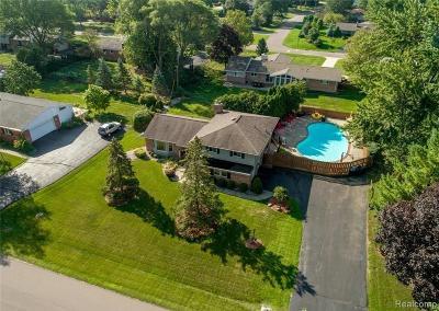 Troy Single Family Home For Sale: 2687 Avonhurst Drive