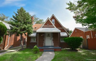 Detroit Single Family Home For Sale: 18610 Ilene Street