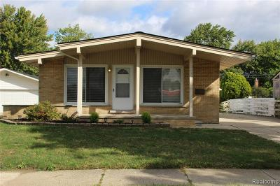 Madison Heights Single Family Home For Sale: 29203 Shirley Avenue