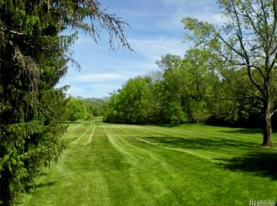 Bloomfield Twp Residential Lots & Land For Sale: 1679 Forest Lane