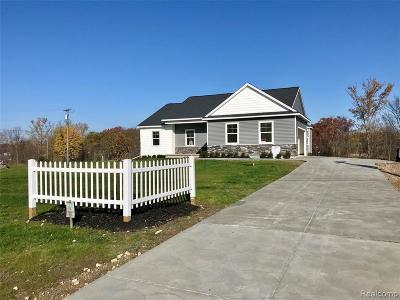 Single Family Home For Sale: To Be Pratt Drive