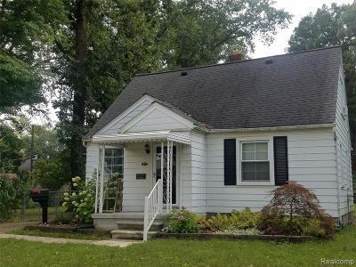 Dearborn Single Family Home For Sale: 22721 Cleveland Street