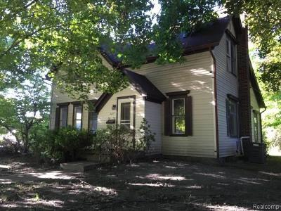 Single Family Home For Sale: 527 E Clinton Street