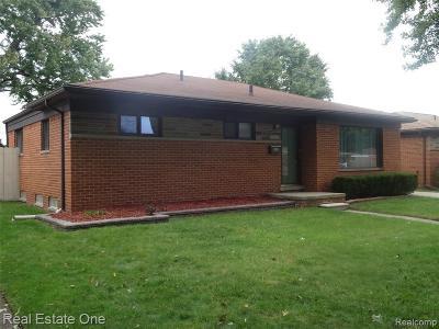 Warren Single Family Home For Sale: 14103 La Chene Avenue