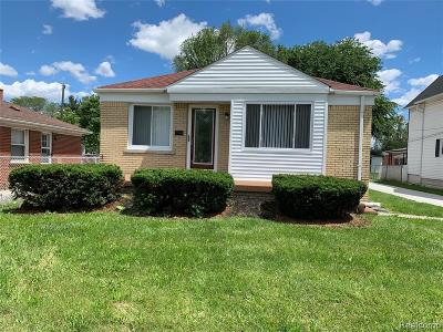 Oakland County, Macomb County, Wayne County Single Family Home For Sale: 24837 Outer Drive