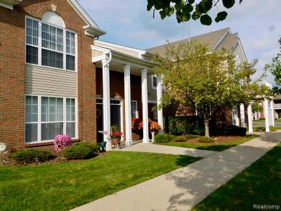 Macomb Twp Condo/Townhouse For Sale: 16433 Grandview Drive