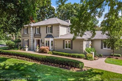 Bloomfield, Bloomfield Hills, Bloomfield Twp, West Bloomfield, West Bloomfield Twp Single Family Home For Sale: 2640 Indian Mound Road