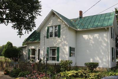 Monroe County Single Family Home For Sale: 4557 W Albain Road