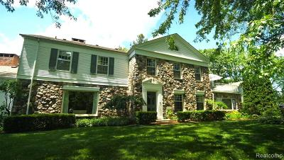 Troy Single Family Home For Sale: 5380 Beach Road