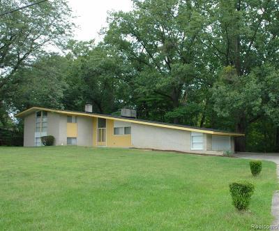 Southfield Single Family Home For Sale: 22542 Staunton Street