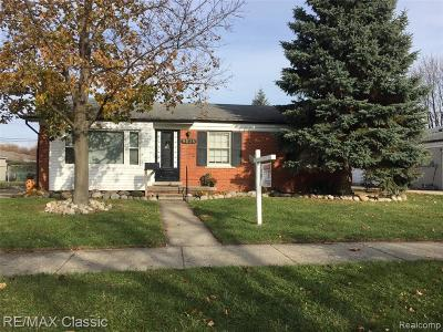 Livonia Single Family Home For Sale: 9036 Montana Street
