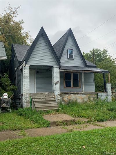 Wayne County Single Family Home For Sale: 13893 Liberal Street