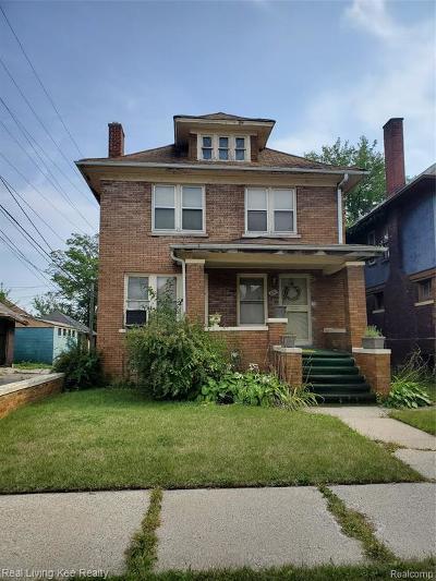 Wayne County Single Family Home For Sale: 3731 Northwestern Street
