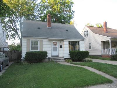 Dearborn Single Family Home For Sale: 24738 Boston Street