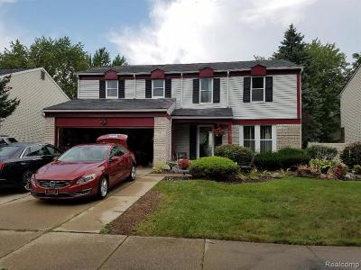 Canton Single Family Home For Sale: 43134 Londonderry Court