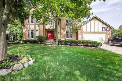 Farmington Hills Single Family Home For Sale: 37818 Windwood Drive